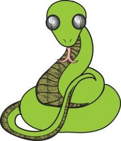 Serpent clipart artistic