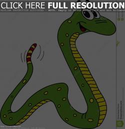 Serpent clipart blank
