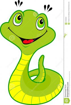 Anaconda clipart happy
