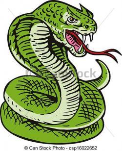 Cobra clipart viper