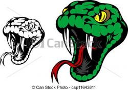 Serpent clipart snake tongue