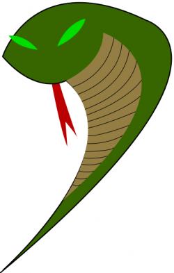 Viper clipart snake tongue