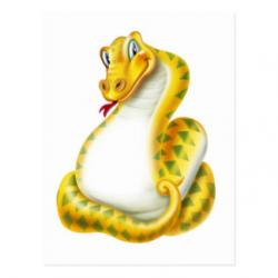 Serpent clipart vertical