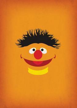 Sesame Street clipart minimalist
