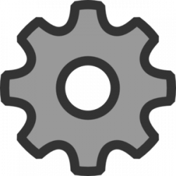 Setting clipart logo png
