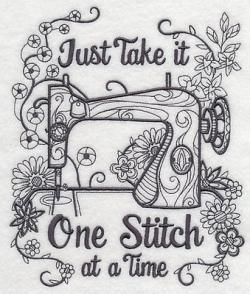 Sewing Machine clipart quilt square