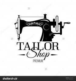 Sewing Machine clipart tailor shop