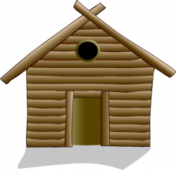 Shack clipart lodge