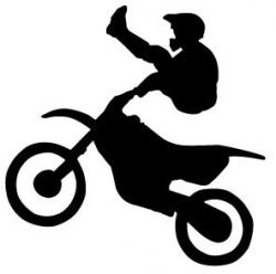 Stunt clipart motorbike