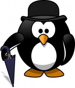 Bowling clipart penguin