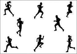 Sport clipart marathon runner