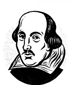 Shakespeare clipart