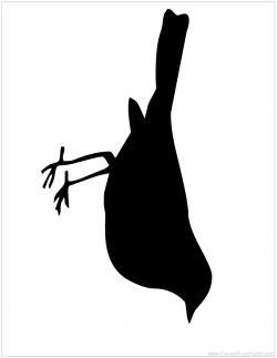 Blackbird clipart free bird