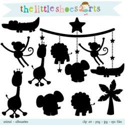 Shadows clipart cute