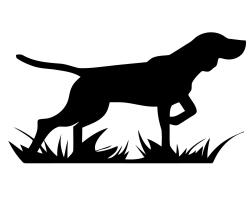 Hound clipart hunting dog