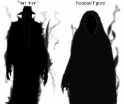 Shadows clipart paranormal