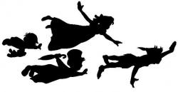 Shaow clipart peter pan