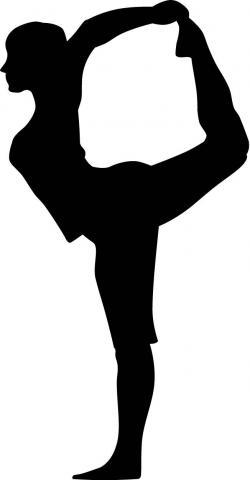 Shadows clipart yoga