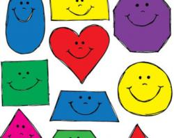 Smiley clipart shapes