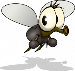 Cute clipart mosquito