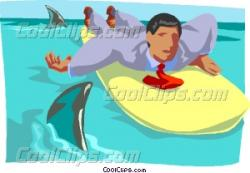 Shark clipart infested