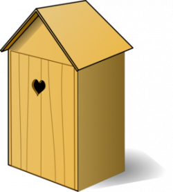 Bird House clipart garden shed