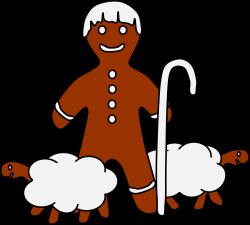 Gingerbread clipart nativity