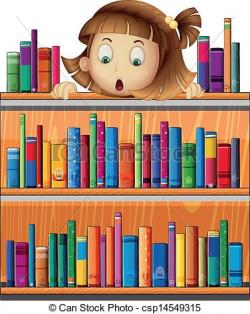 Bookcase clipart book background