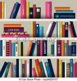 Bookcase clipart book the bible