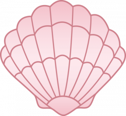 Clams clipart pink