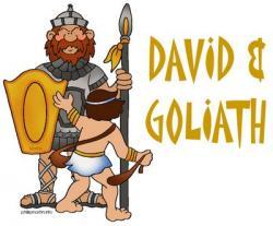 Shepherd Boy clipart david and goliath