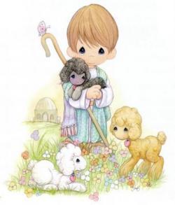 Sheep clipart precious moment