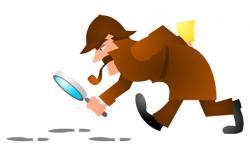 Sherlock Holmes clipart data handling