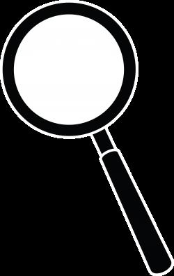 Lens clipart detective