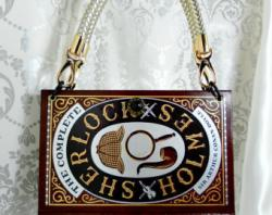 Sherlock Holmes clipart mystery bag