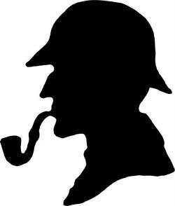 Sherlock Holmes clipart mystery genre