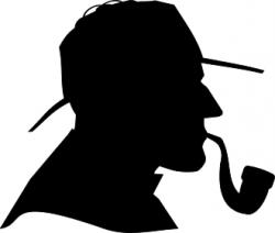 Sherlock Holmes clipart public domain