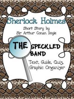Sherlock Holmes clipart quiz time