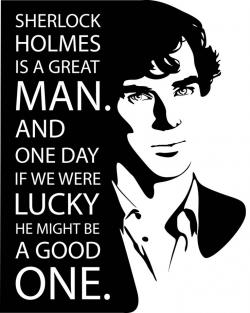 Sherlock Holmes clipart search and seizure