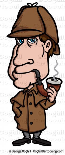 Sherlock Holmes clipart sleuth
