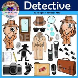 Sherlock Holmes clipart spy