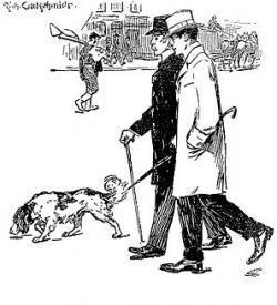 Sherlock Holmes clipart suspect