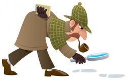 Sherlock Holmes clipart work