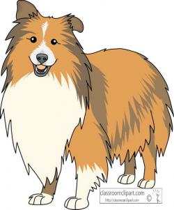 Sheepdog clipart furry