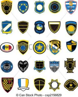 Shield clipart military badge