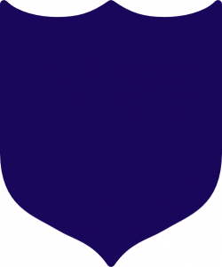 Shield clipart navy
