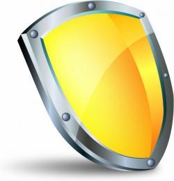 Shield clipart shiny