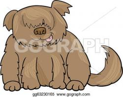 Sheepdog clipart shaggy dog