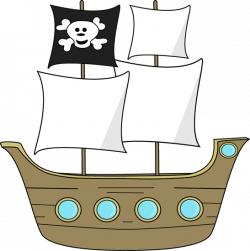 Sailboat clipart pirate