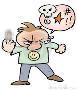 Shocking clipart swearing